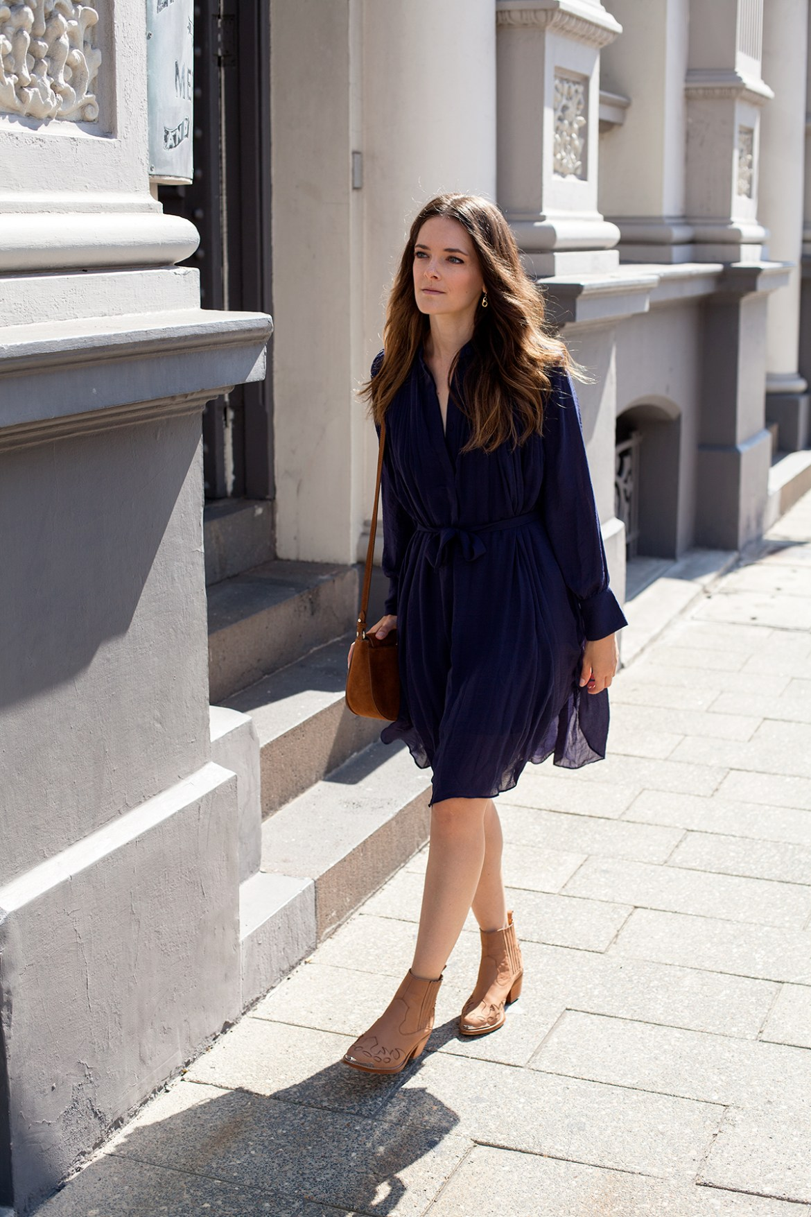 why I am wearing blue. Inspiring wit fashion blog from Australia BOHEMIAN TRADERS dress