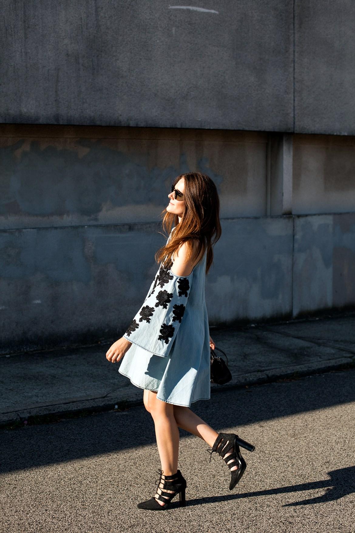 Untold mini dress Isla the Label from Byron Bay, worn by Australian fashion blogger Inspiring Wit