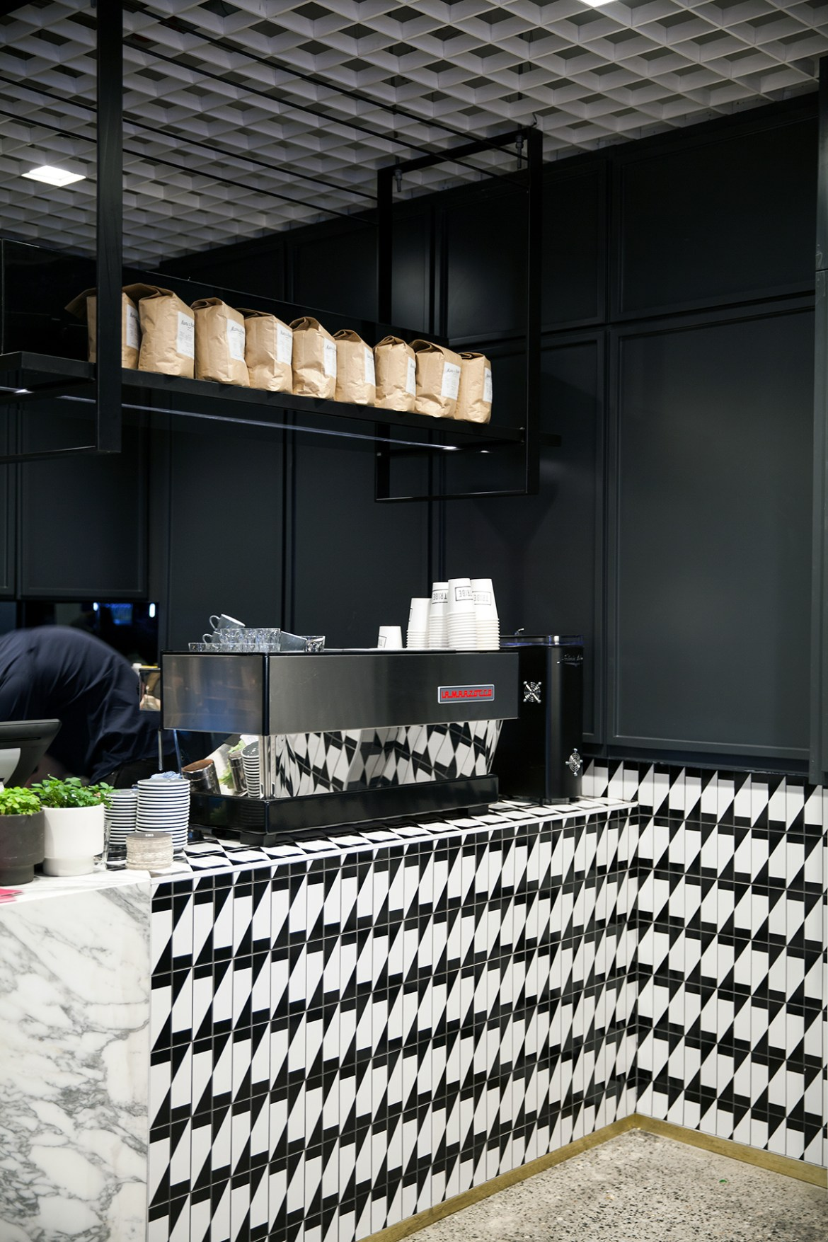 Tribe Hotel Perth, coffee bar Jenelle from travel blog Inspiring Wit boutique hotel profile