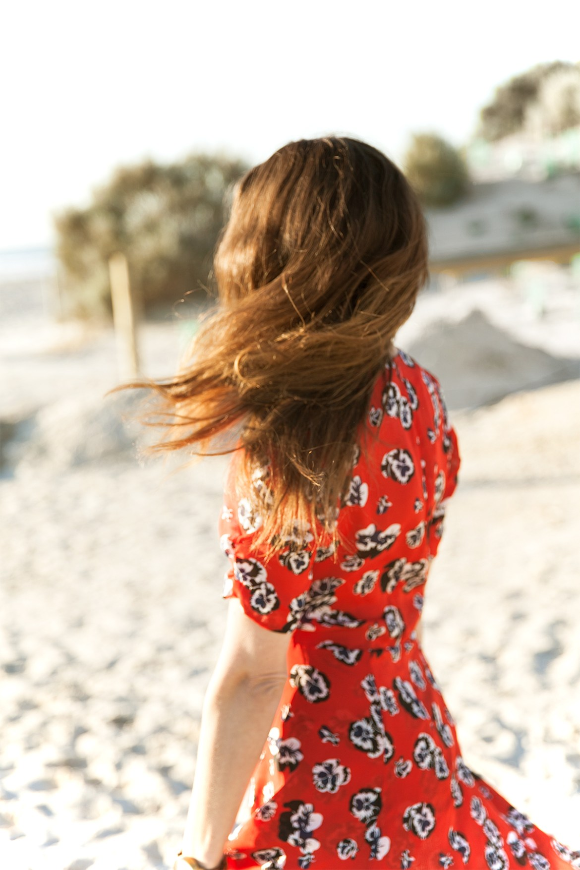 Realisation Par the Ozzie dress in Pansy print worn by Australian fashion blogger Jenelle Witty from Inspiring Wit