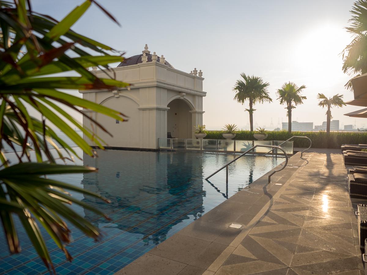 E&O Hotel Penang pool