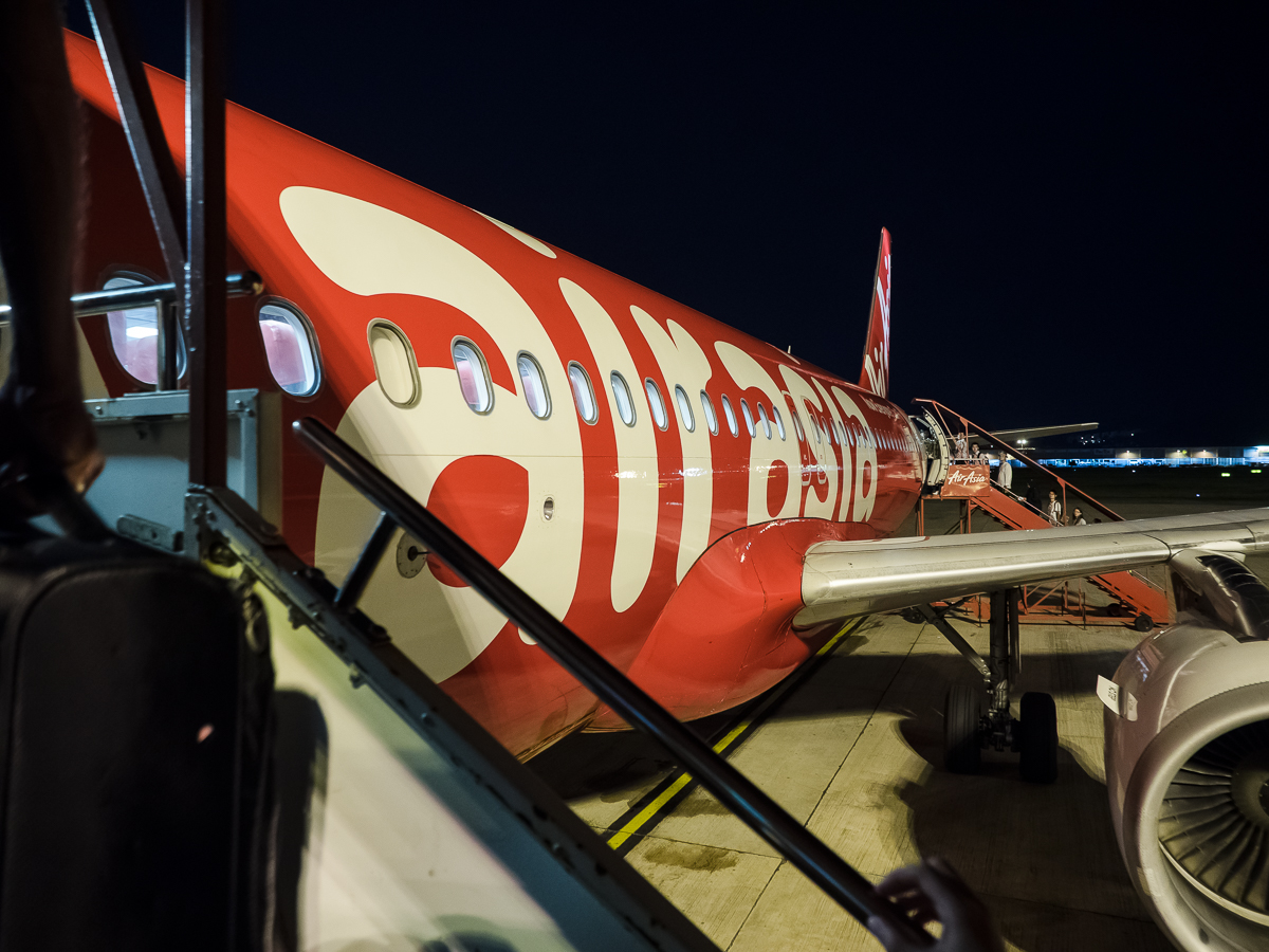 Plane AirAsia review flying from Penang to Perth with travel blogger Inspiring Wit