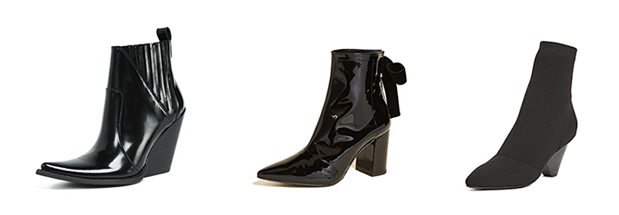 Shopbop sale June black boots curated by Inspiring Wit blogger