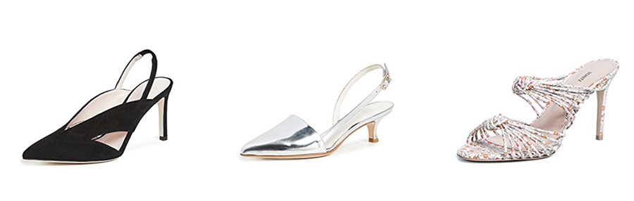 strappy heels from the June Shopbop sale on sale Inspiring Wit curated