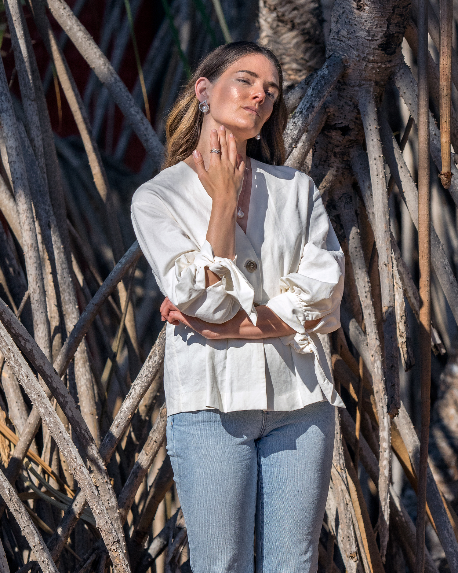 Allure South Sea Pearls Broome Inspiring Wit fashion blogger Jenelle Witty at Cable Beach Club