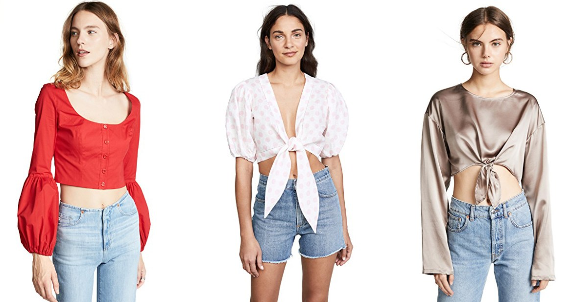 Cyber Monday Shopbop sale picks from Inspiring Wit fashion blog crop tops