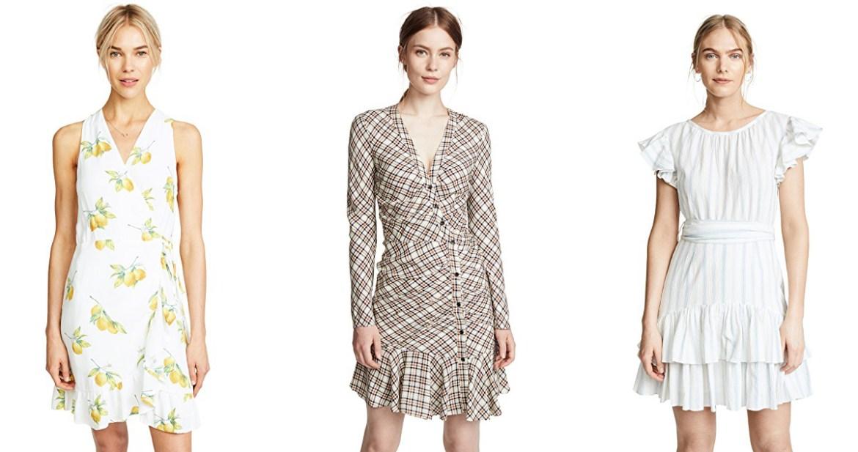 Cyber Monday Shopbop sale picks from Inspiring Wit fashion blog ruffled mini dresses