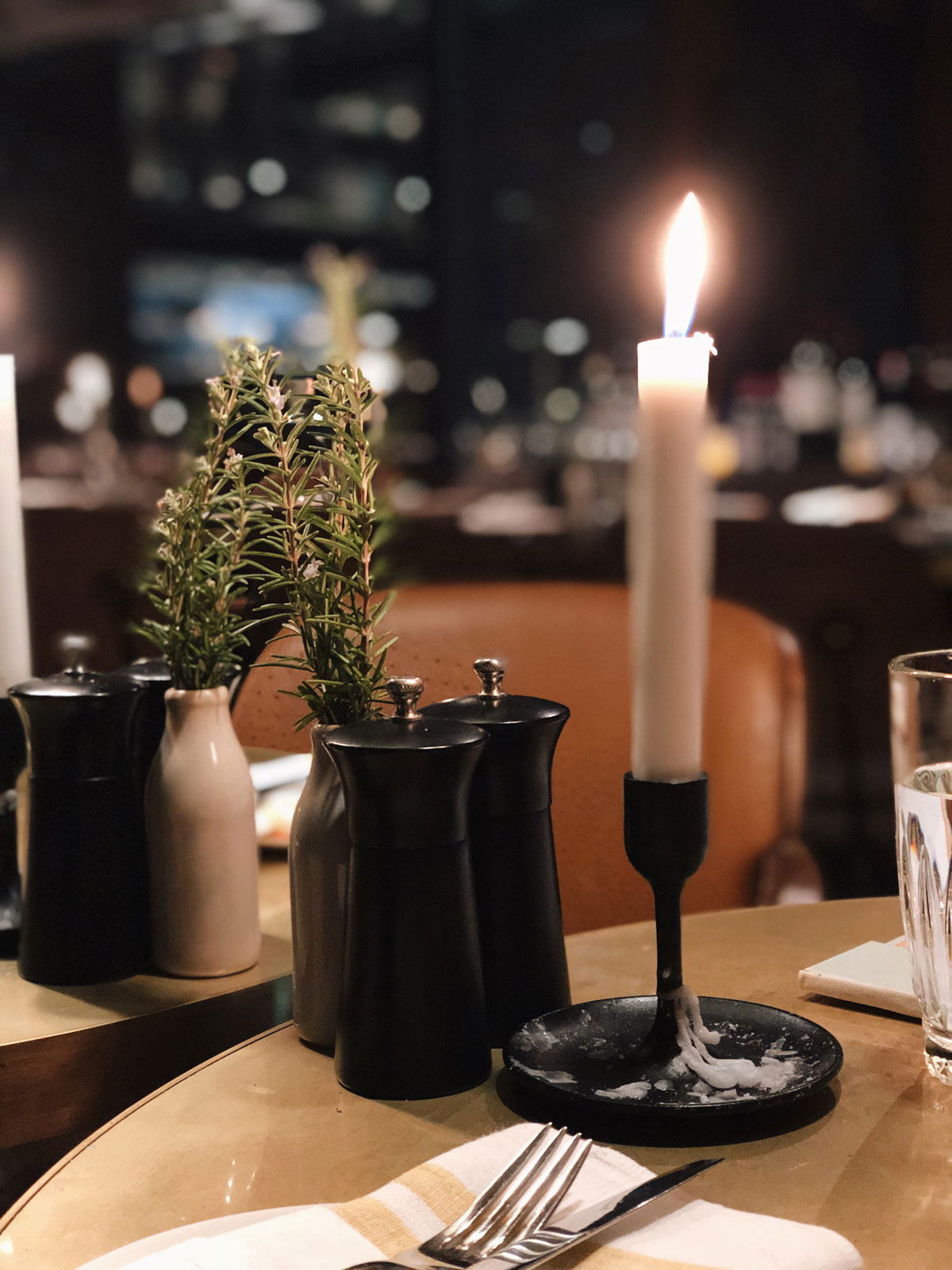 candle dinner