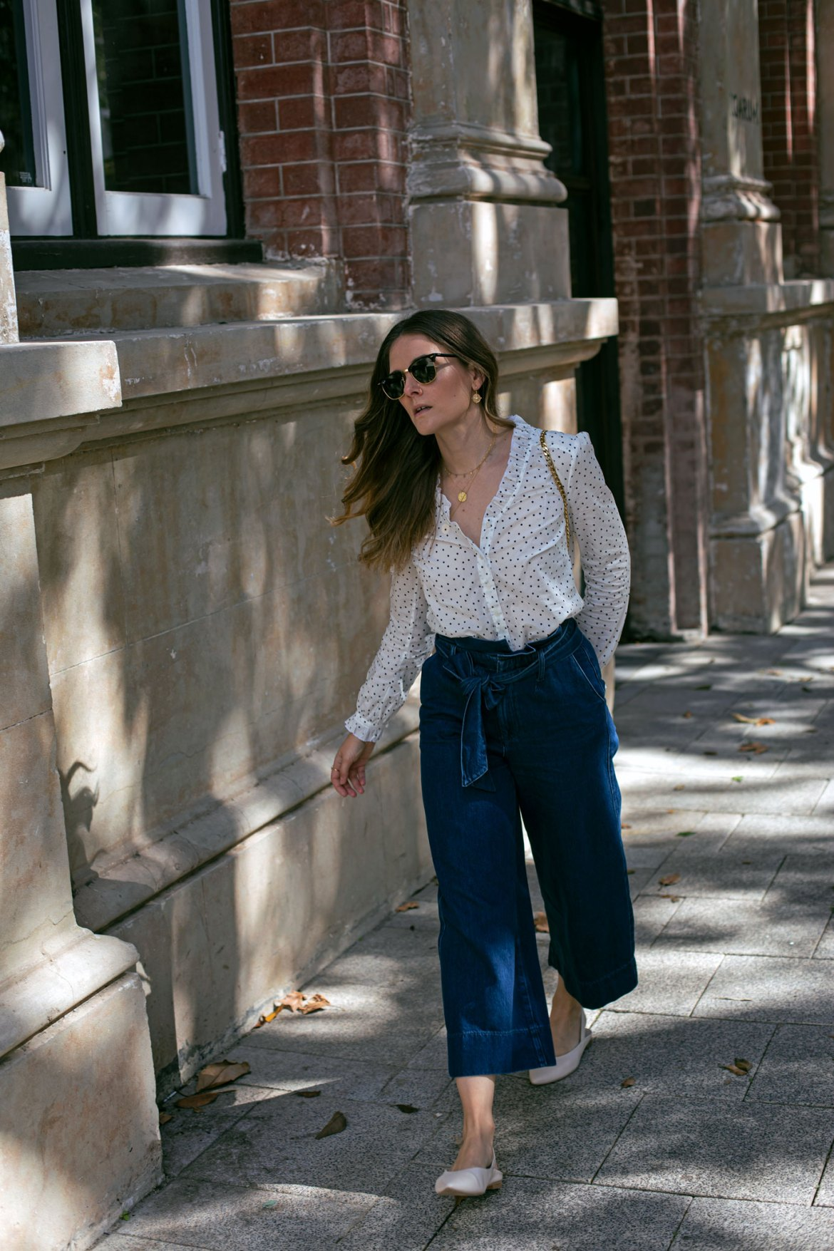 Boden culottes outfit