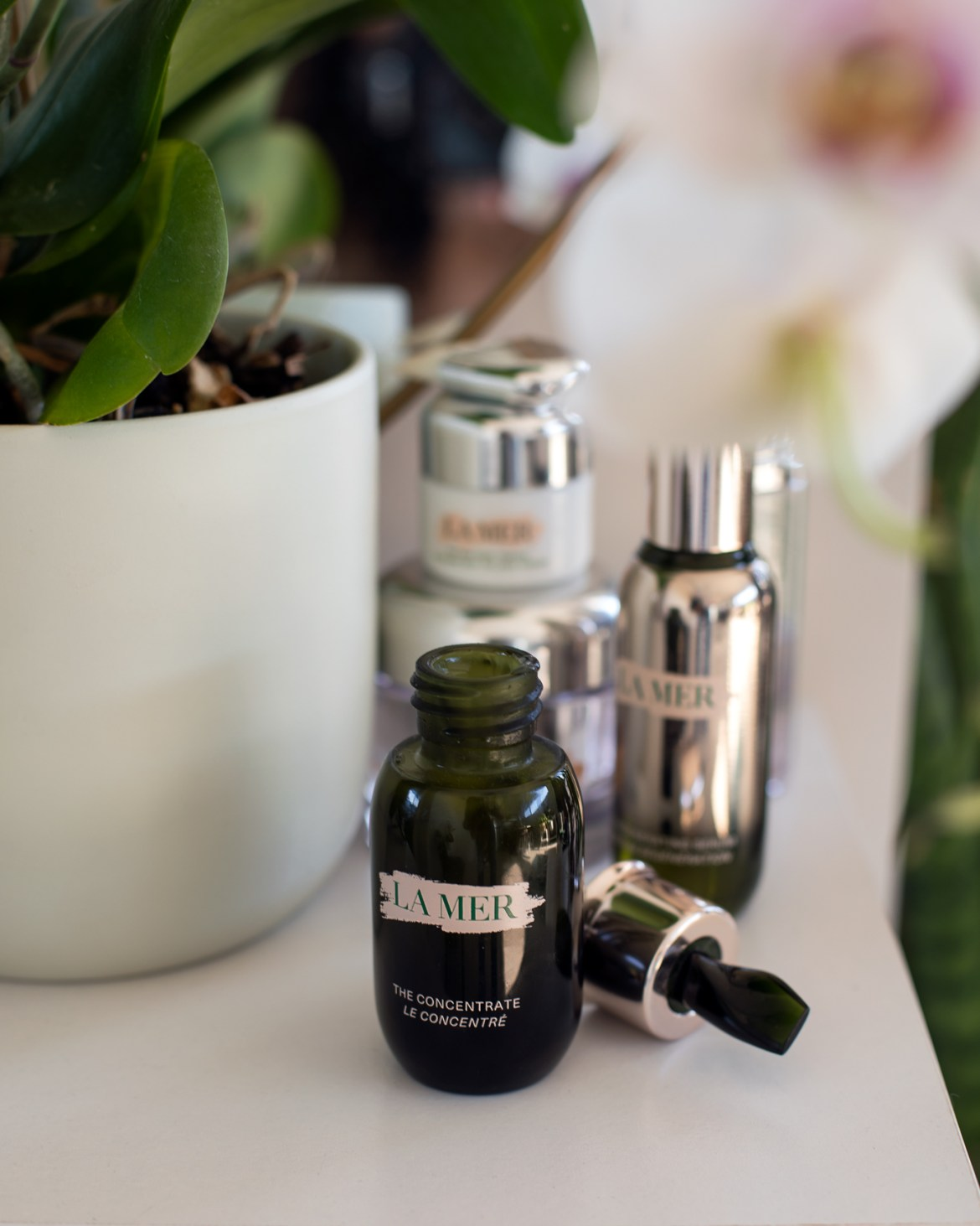 The Concentrate from La Mer bottle