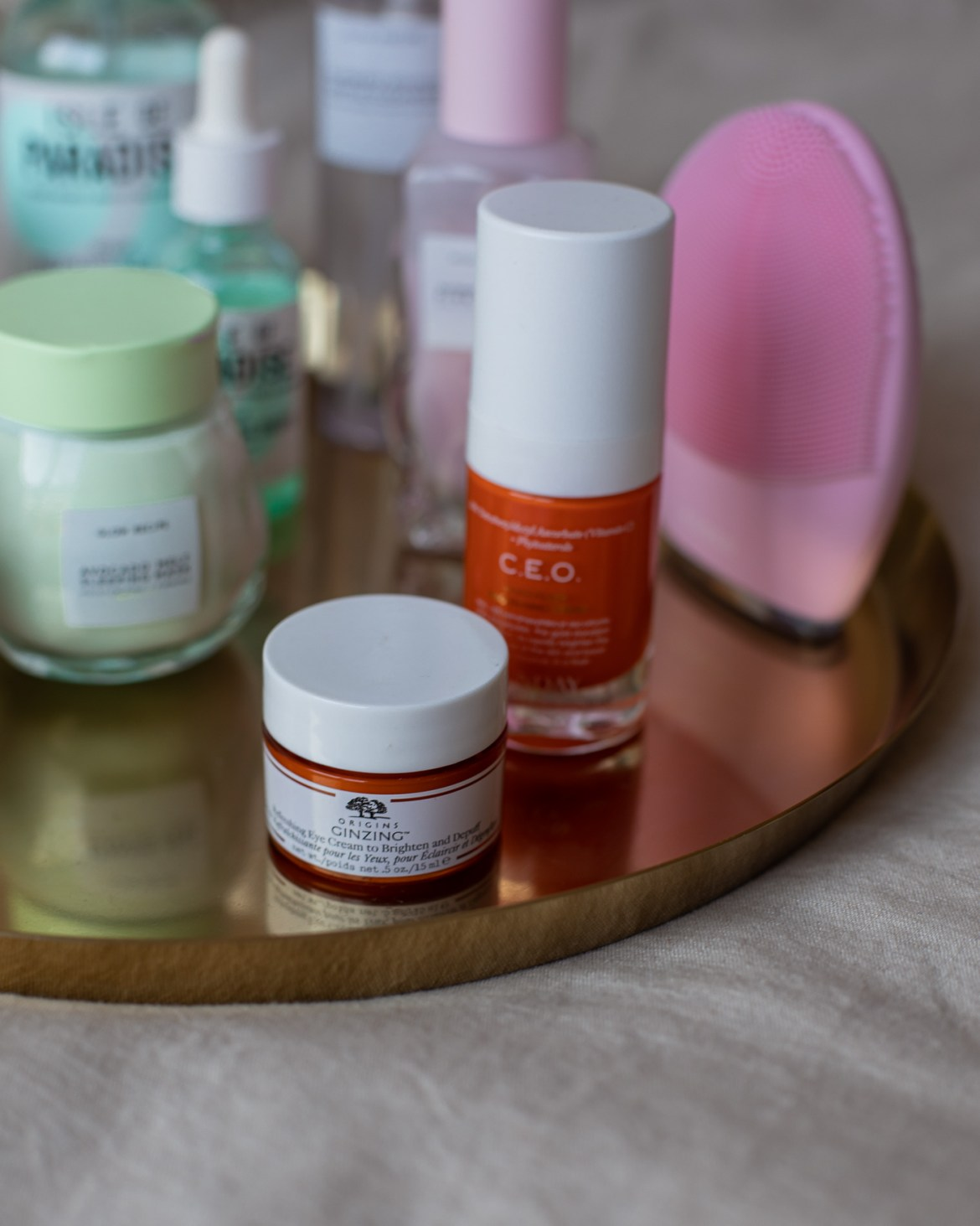 Origins Ginseng eye cream review for self-care at home