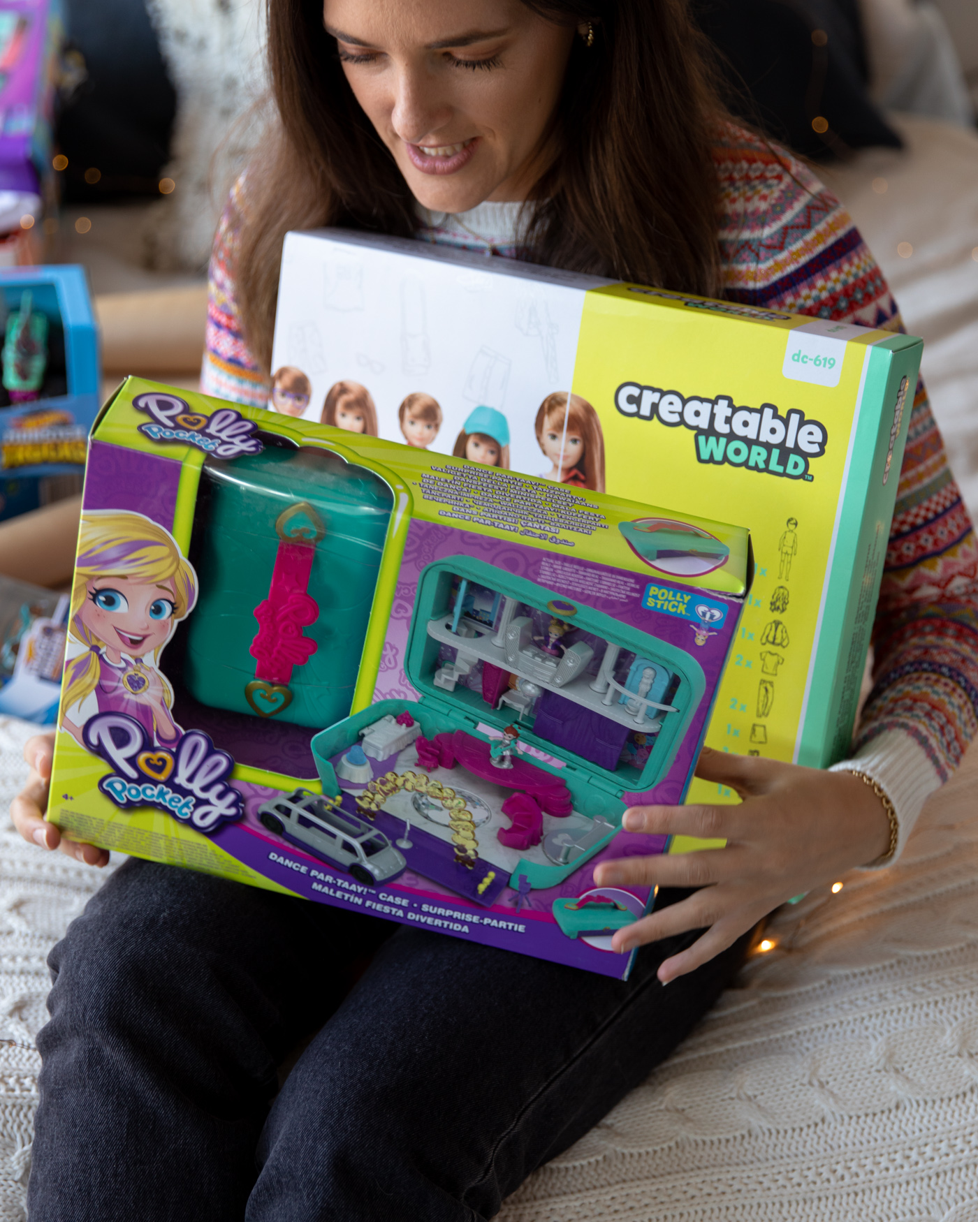 Polly Pocket and Creatable World gifts for Christmas in 2019