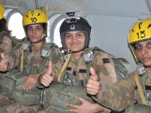 Pakistani Female  army