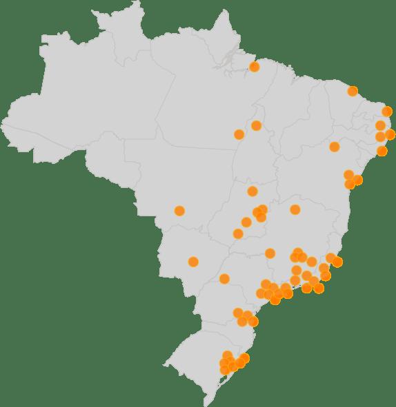 Instabuy pelo Brasil - Supermercados