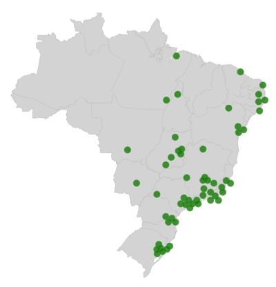 Instabuy pelo Brasil - Hortifruti e orgânicos