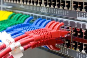 14717107 - network switch and utp ethernet cables