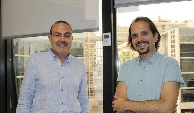 Los investigadores del Grupo Comunicación y Sociedad Digital (Coysodi) Jesús Díaz-Campo y Francisco Segado-Boj
