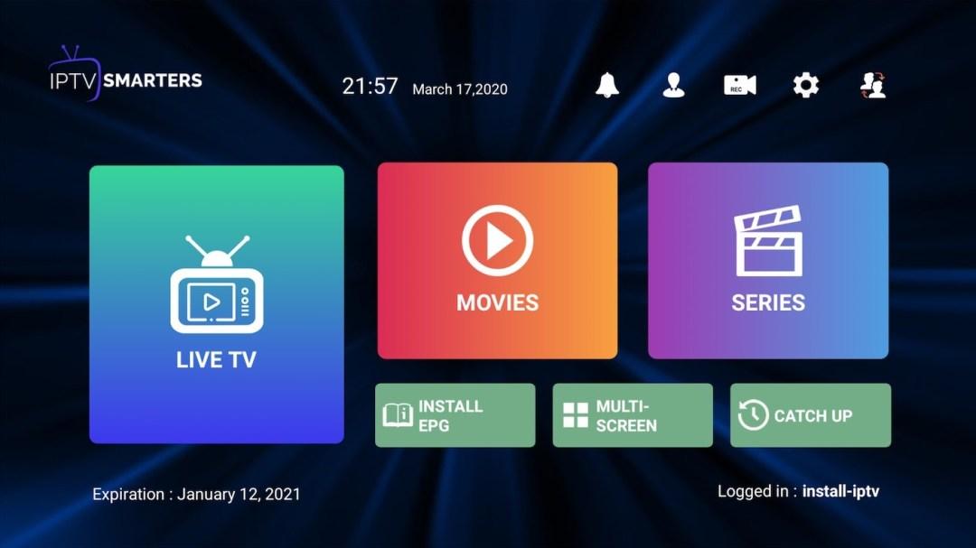 IPTV smarters pro installation step 3