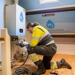 Stedin start proef met verwarmen van woningen op waterstof
