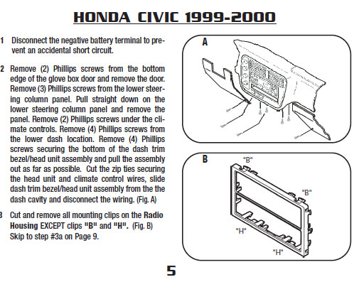 honda civic 1999 honda civic exhaust system diagram