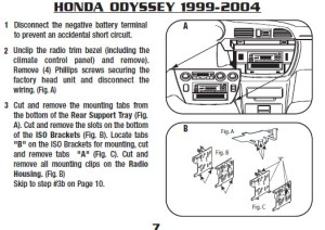 2000HONDAODYSSEYinstallation instructions