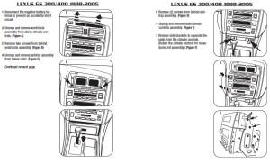 2001LEXUSGS300installation instructions