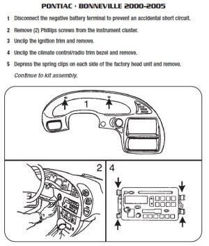 2002PONTIACBonnevilleinstallation instructions