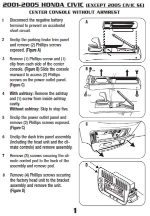 2003HONDACIVICinstallation instructions
