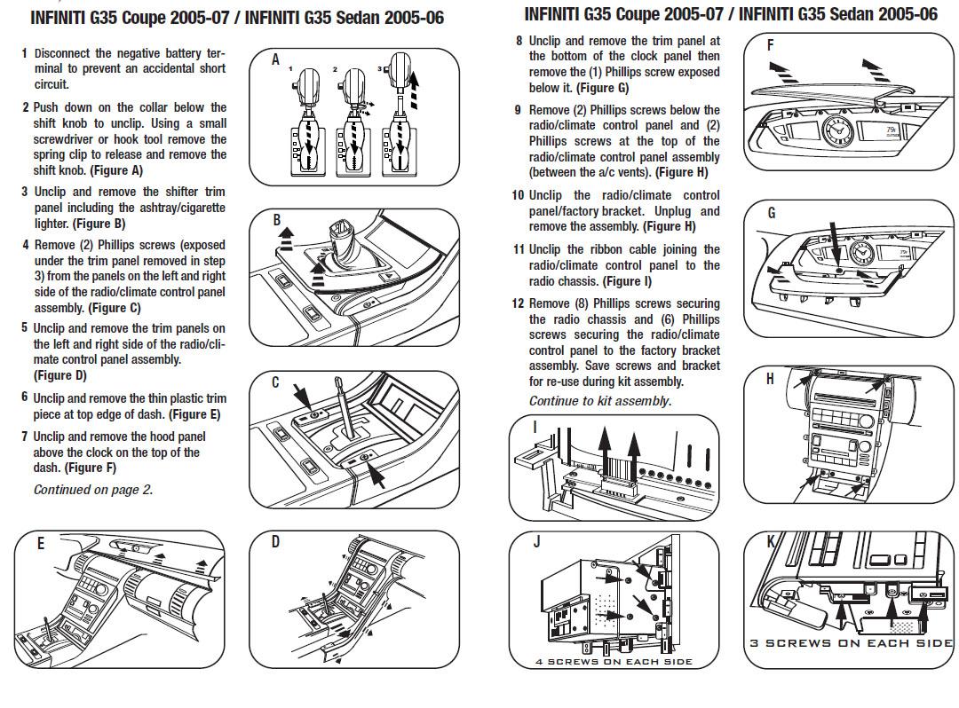 Radio Wiring Diagram G35. . Wiring Diagram on