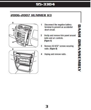 2007HUMMERH3installation instructions
