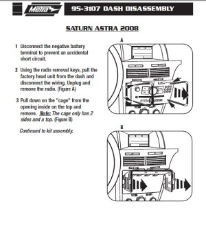 2008SATURNASTRAinstallation instructions