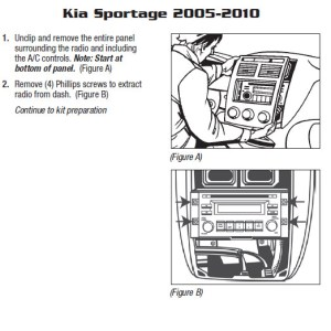 2009KIASPORTAGEinstallation instructions