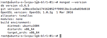 mongodb-version-check