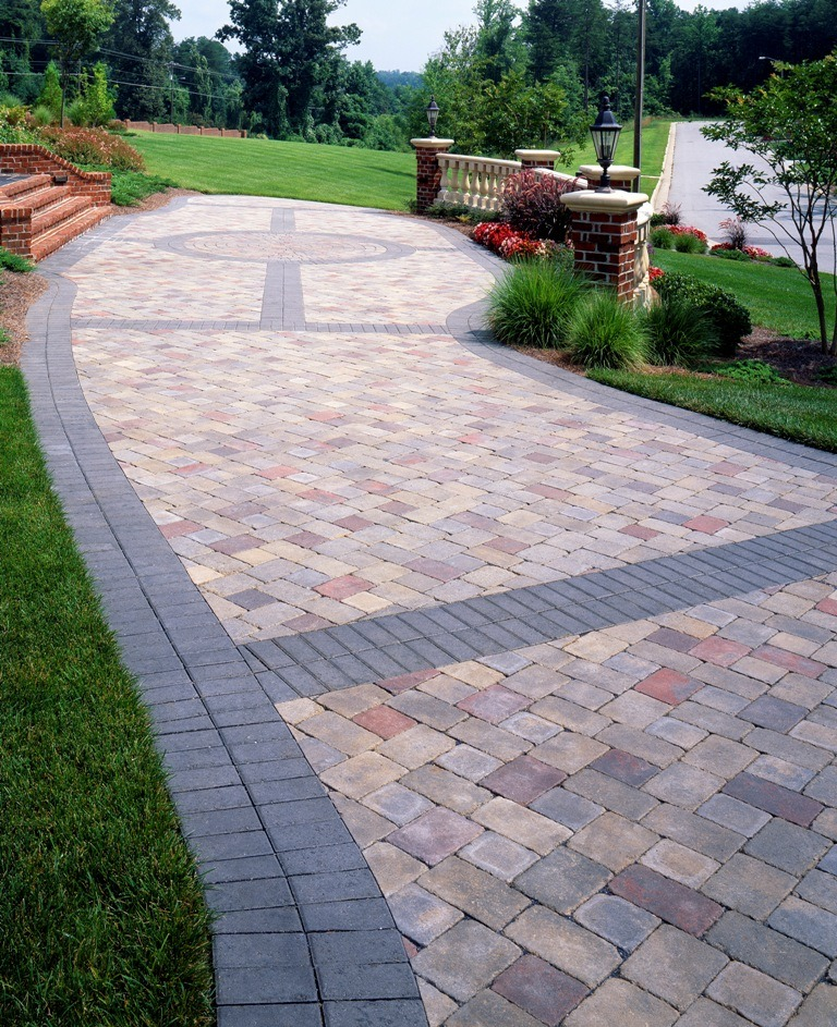 paver patterns and design ideas for