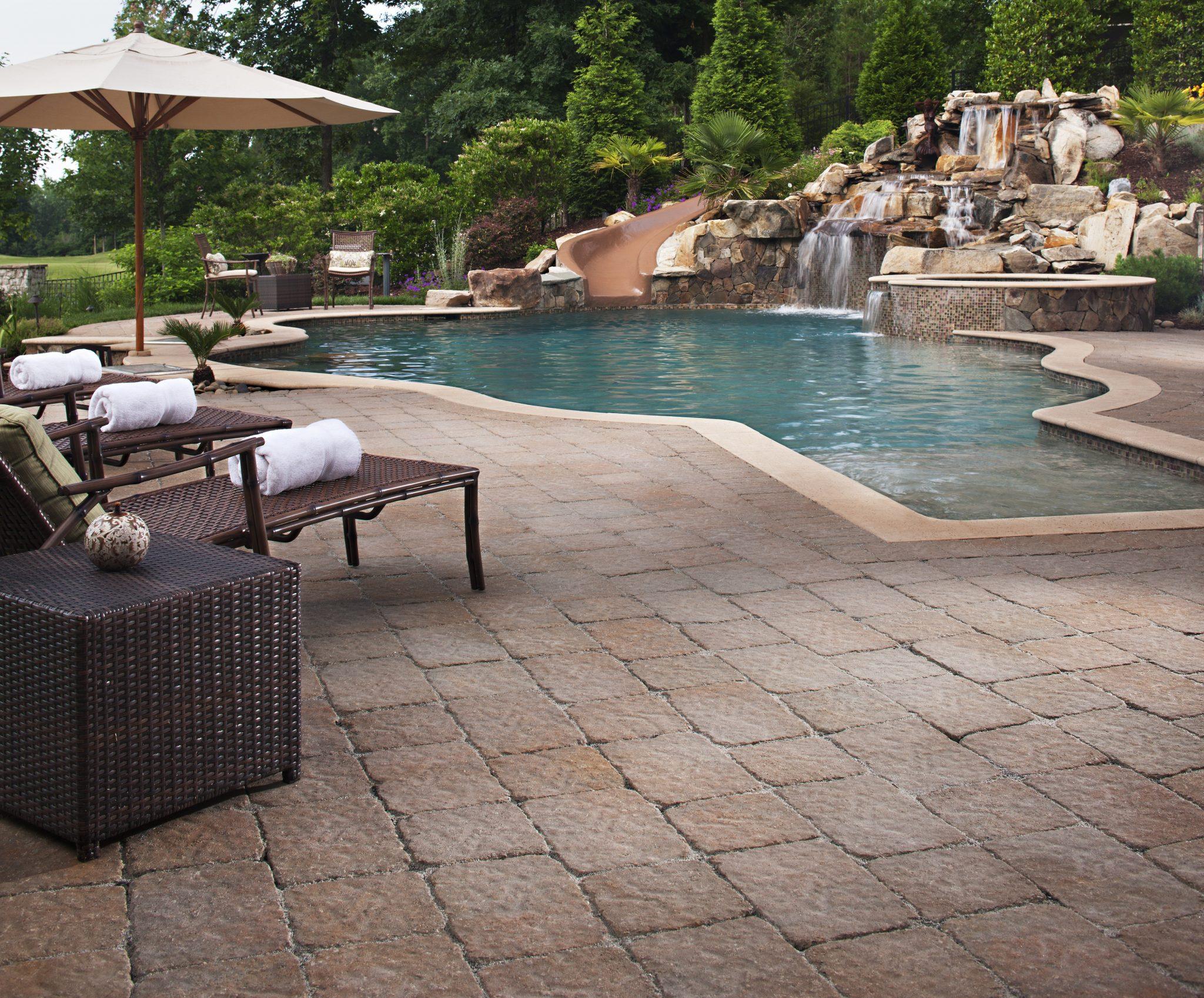 best pool deck material