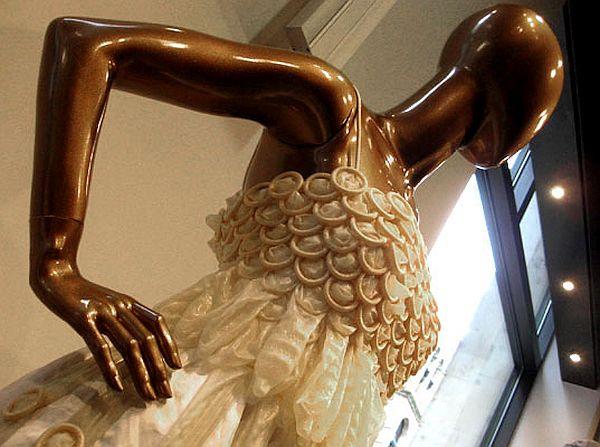 Emma Kaywin's Condom Dress