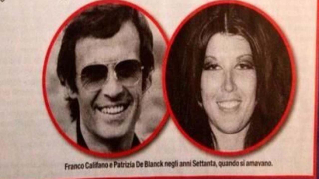 Franco Califano e Patrizia De Blanck: lei svela il contenuto delle lettere d'amore del cantante