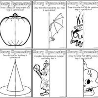 Free Halloween Symmetry