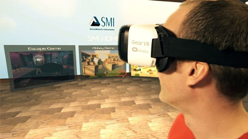 SMI brings eye tracking to mobile virtual reality (PRNewsFoto/SensoMotoric Instruments GmbH)