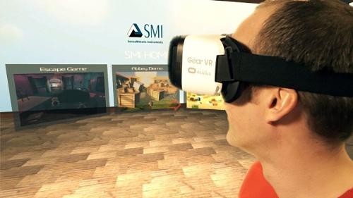 SMI brings eye tracking to mobile virtual reality (PRNewsFoto/SensoMotoric Instruments GmbH)