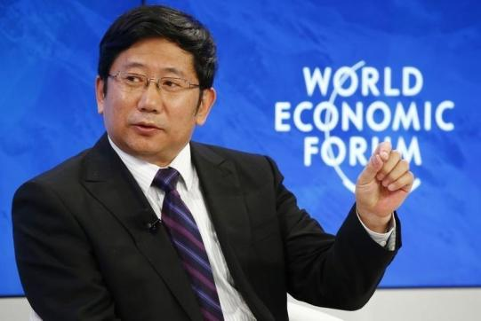 "Xu Jinghong, Chairman of Tsinghua Holdings attends the session ""The Future of ""Made China"""" during the Annual Meeting 2016 of the World Economic Forum (WEF) in Davos, Switzerland January 21, 2016. REUTERS/Ruben Sprich"