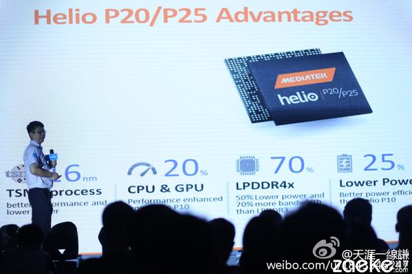 9-26: MediaTek officially unveils Helio X30, P25 and P20