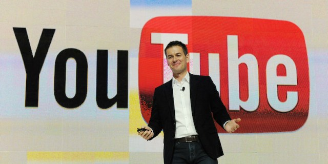 Vice President of Global Content Partnerships at YouTube Robert Kyncl speaks during the Entertainment Matters keynote address at the 2012 International Consumer Electronics Show at the Las Vegas Hotel & Casino January 11, 2012 in Las Vegas, Nevada. CES, the world's largest annual consumer technology trade show, runs through January 13 and features more than 3,100 exhibitors showing off their latest products and services to about 140,000 attendees.