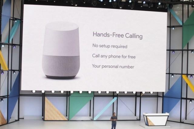 google-home-hand-free-calling