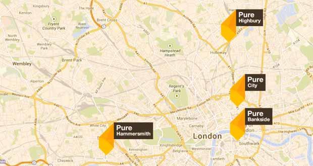 Pure Student Living: London accomodation