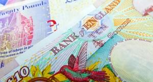 UK sterling bank notes