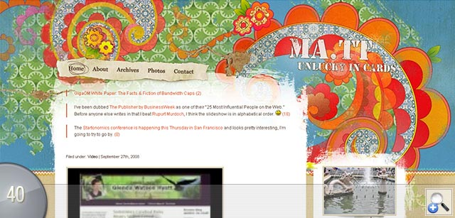 Smashing Blog Designs