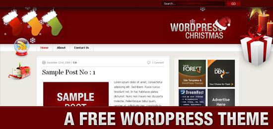 WordPress Christmas - A Free WordPress Theme