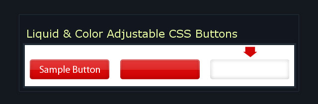 CSS Navigation and buttons tutorial