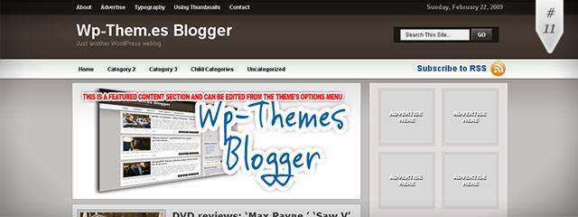 instantShift: Brilliant Free WordPress Themes